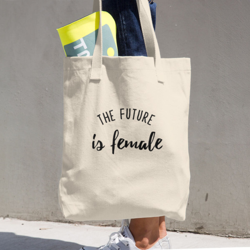 Feminist Lost Angeles Apparel Tote Bag