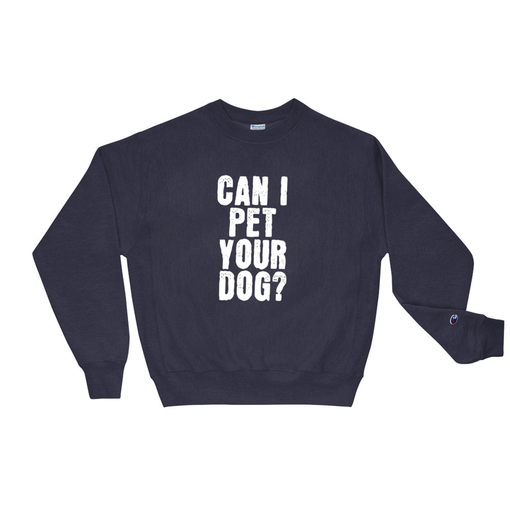 Dog Navy Champion Sweatshirt
