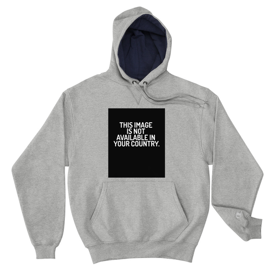 This Image Grey Champion Hoodie