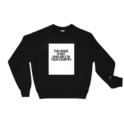 This Image Black Champion Sweatshirt