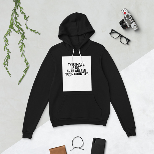 This Image Black Bella + Canvas Hoodie
