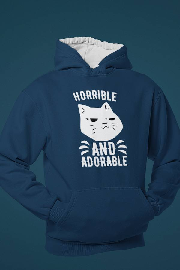 Adorable Navy Champion Hoodie