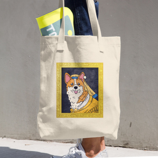 Corgious Los Angeles Apparel Tote Bag