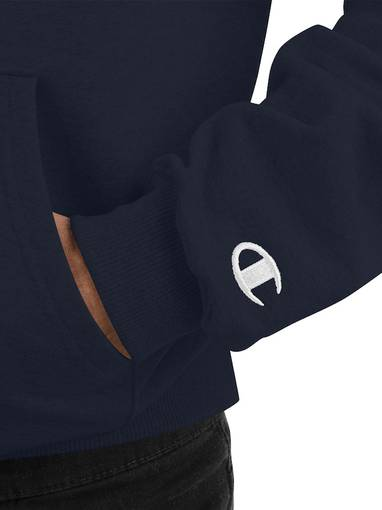 Why Be Racist Navy Champion Hoodie