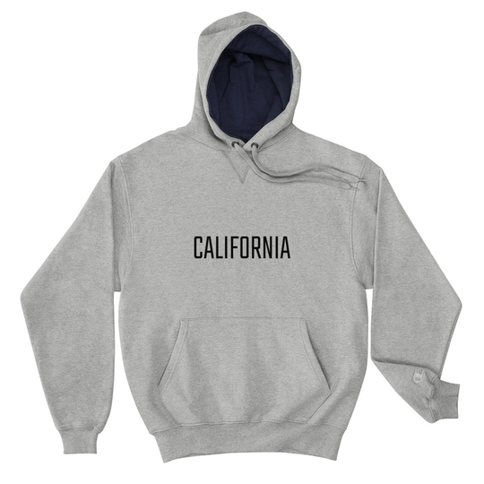 California Grey Champion Hoodie