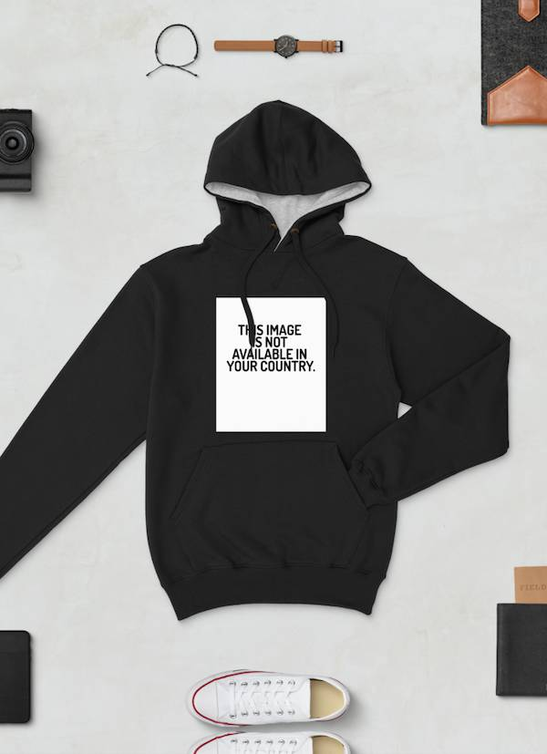 This Image Black Champion Hoodie